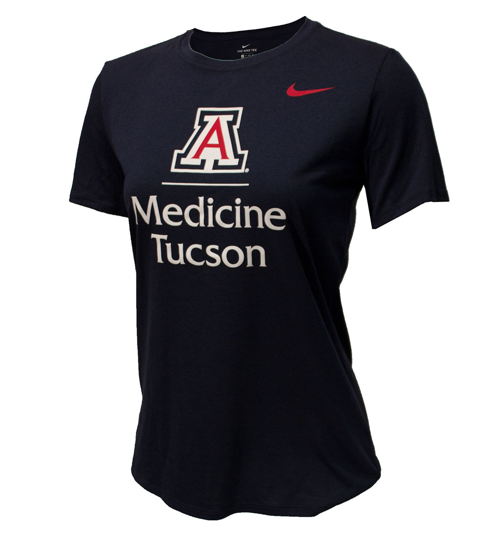 Image For Nike: Arizona College of Medicine Dri-fit Navy