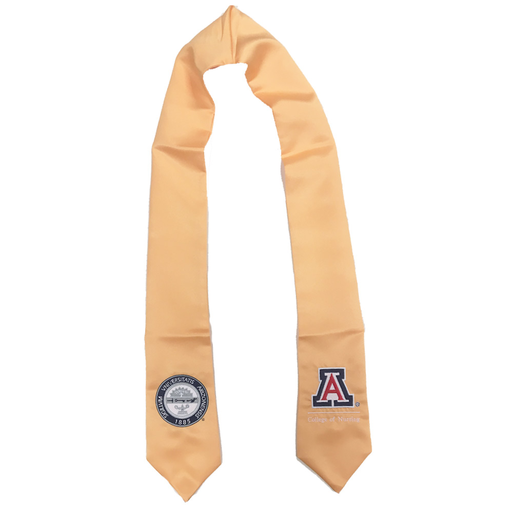 Image For Arizona College of Nursing Stole - Apricot