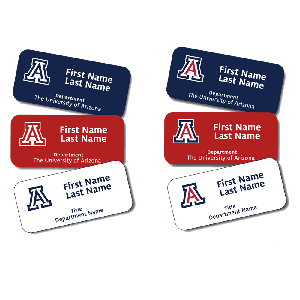 Image For University of Arizona Health Sciences FACULTY Name Tag
